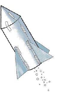 Water Rocket Clipart.