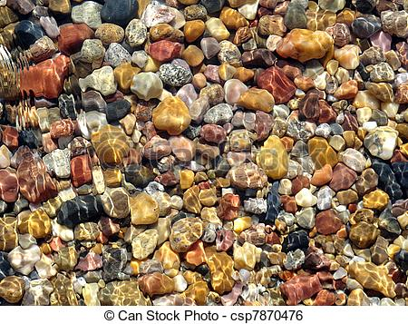 Stock Image of Rocks and water rock!.