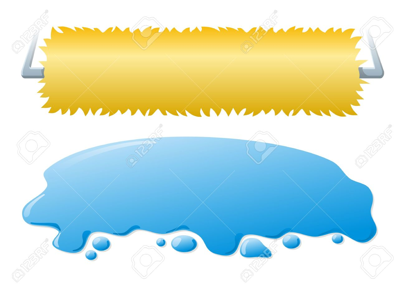 Car wash rollers clipart images.