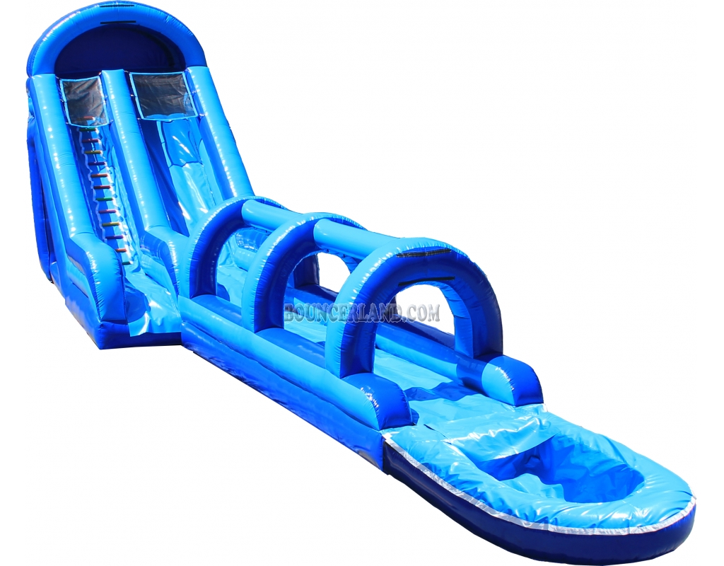 Blow up water slide clipart.