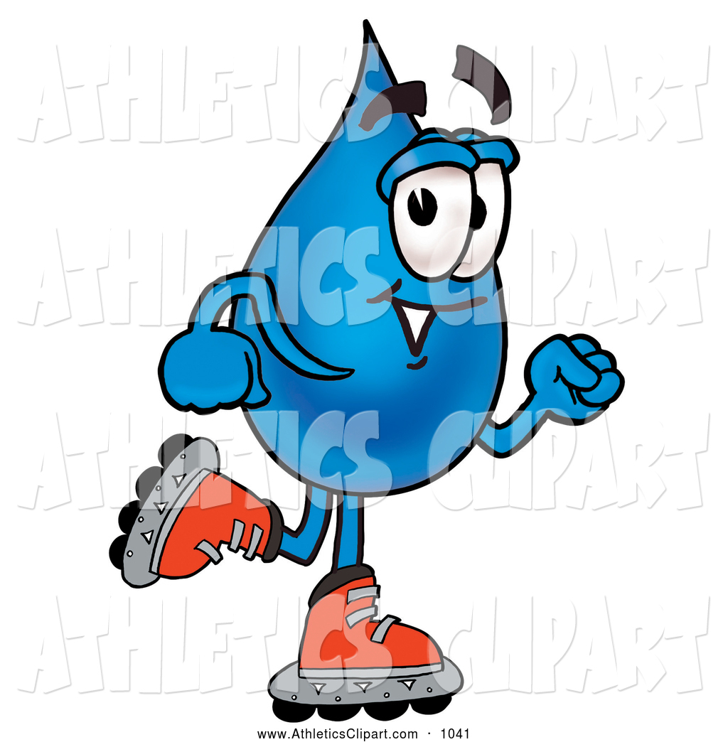 Royalty Free Drinking Water Stock Athletics Designs.