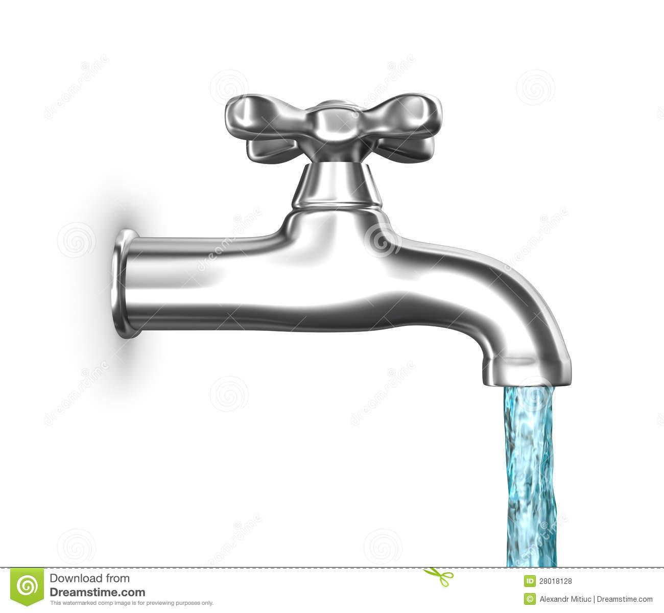 Running Water Clipart.