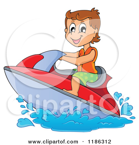 Water scooter clipart #9