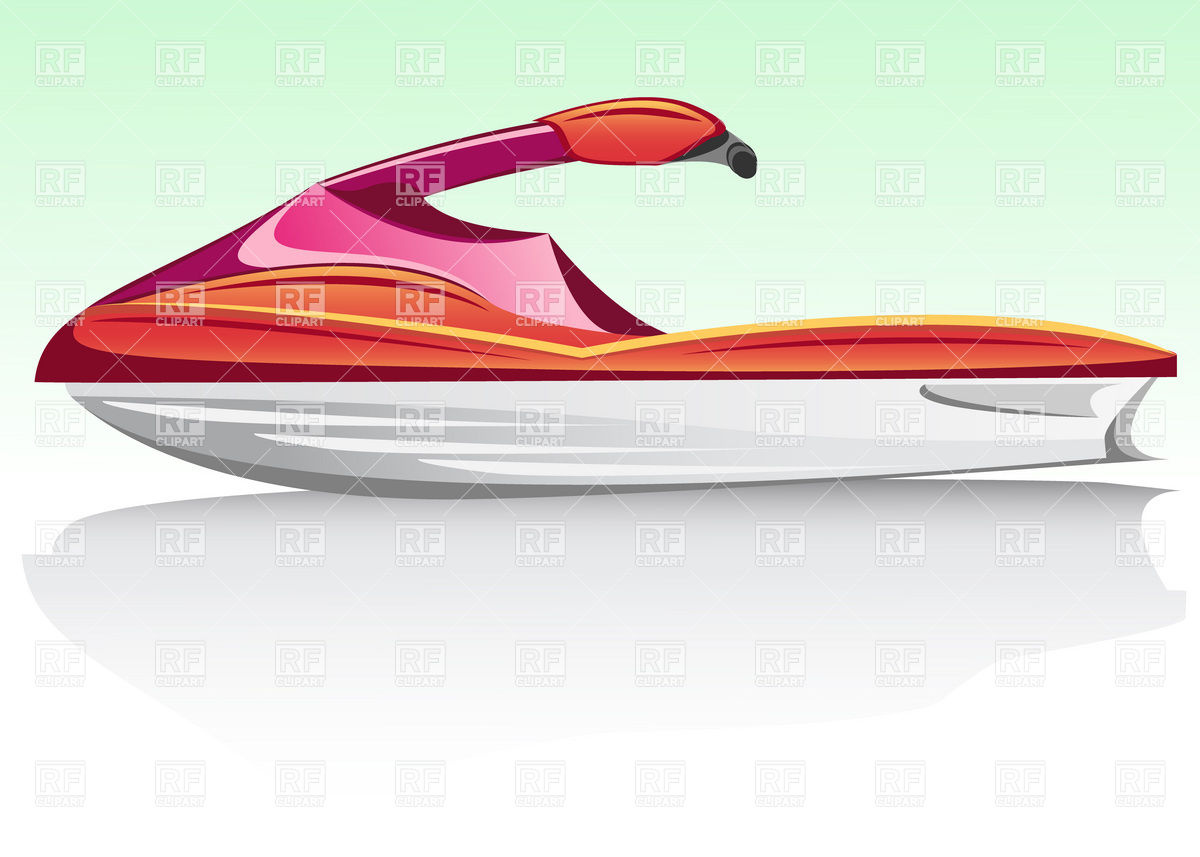 Water scooter clipart #8