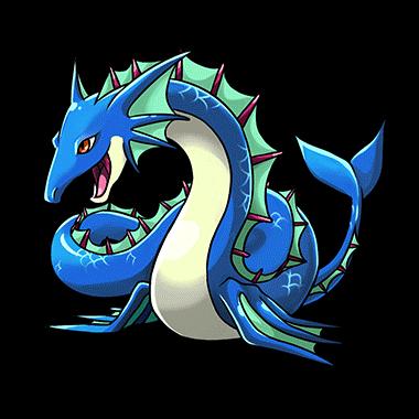 Sea Serpent Clipart.