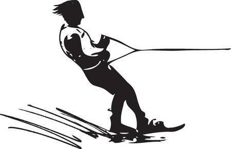 Water ski clipart 3 » Clipart Portal.