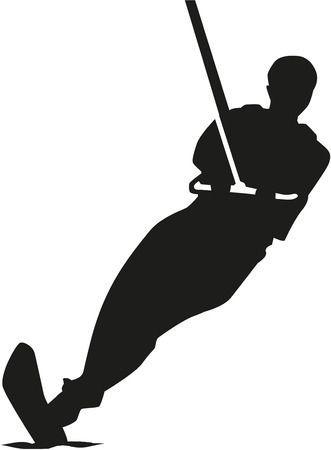 Clipart water ski » Clipart Portal.