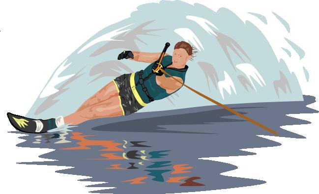 Water Ski Clipart.