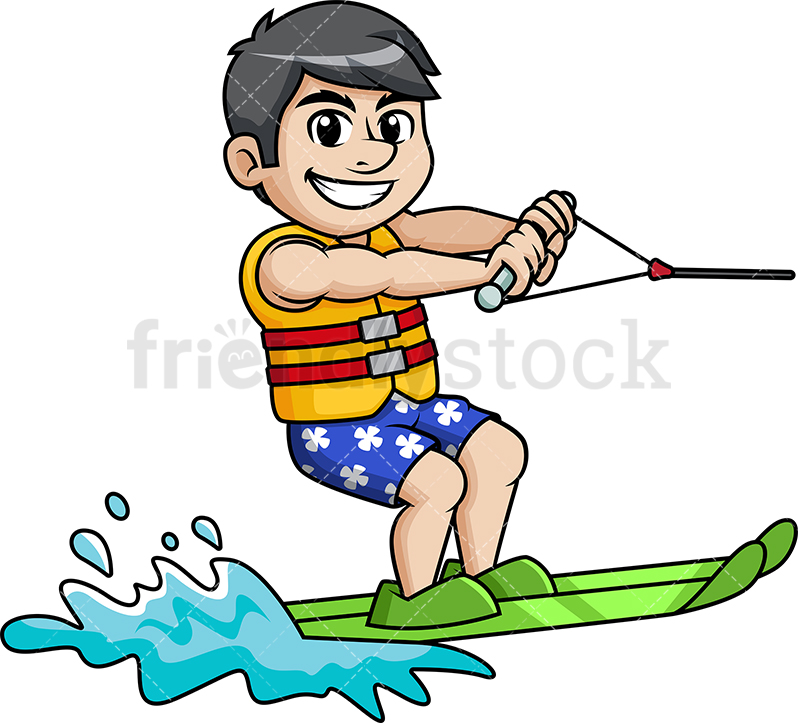 Water Skiing Clipart Free Download Clip Art.