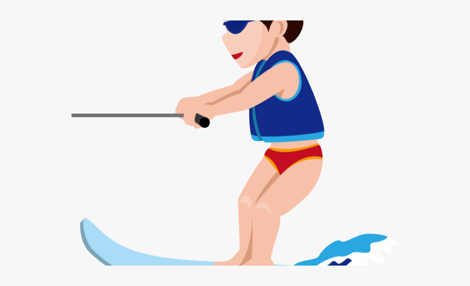 Water Skiing Cliparts.