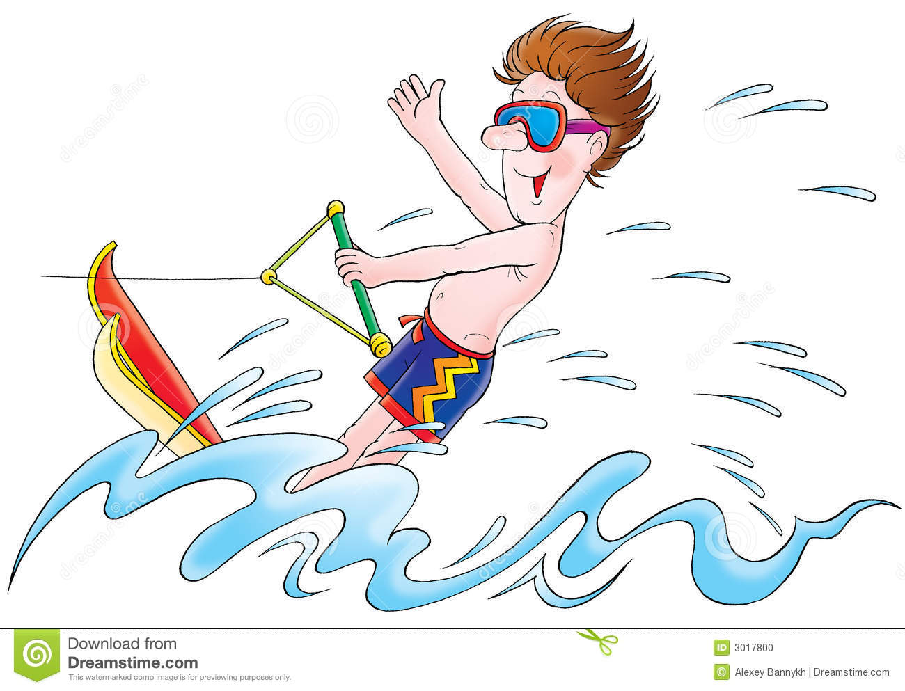 Water skiing clipart 6 » Clipart Station.