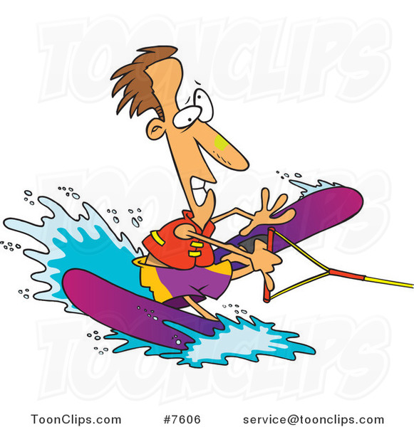Showing post & media for Cartoon water skiing.