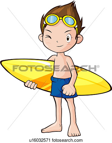 Water Recreational Activities Clipart.