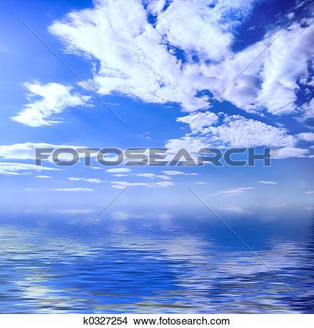 Drawings of Summer seascape k0327254.