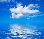 Sky Water Clipart.