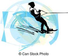 Water slalom Clipart Vector Graphics. 61 Water slalom EPS clip art.