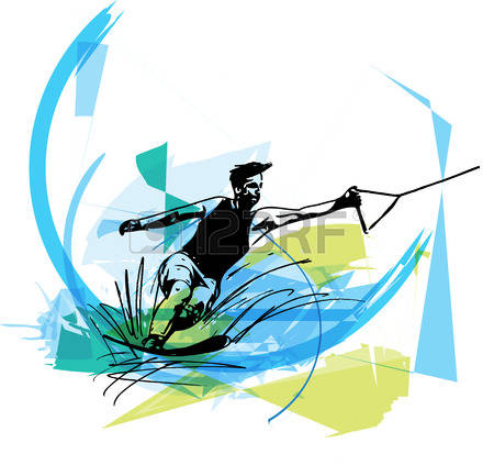 Water Slalom Stock Vector Illustration And Royalty Free Water.