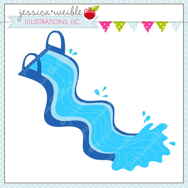 Water Slide Clip Art.