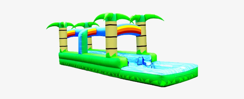 Tropical 2 Lane Water Slide.
