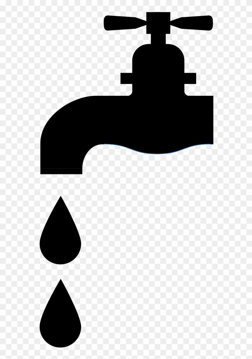 Raindrops Clipart Water Faucet.