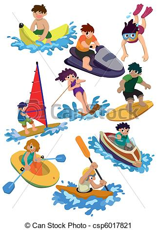 Water sport Clipart Vector Graphics. 24,998 Water sport EPS clip.
