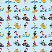 Water Sport Clip Art.