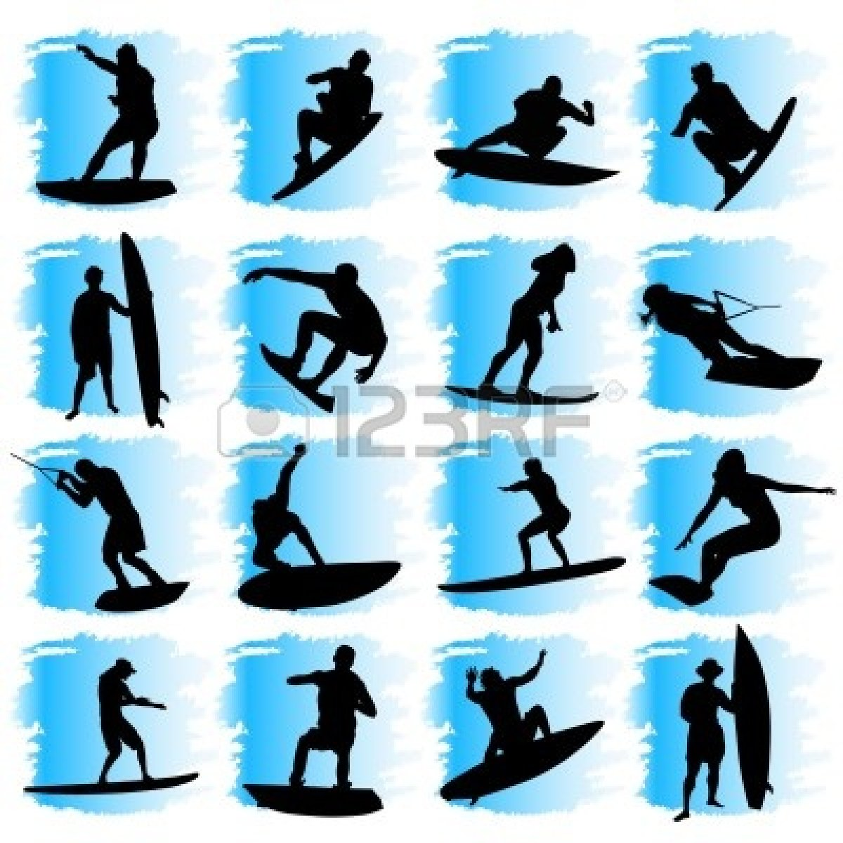 Water Sport Clipart.
