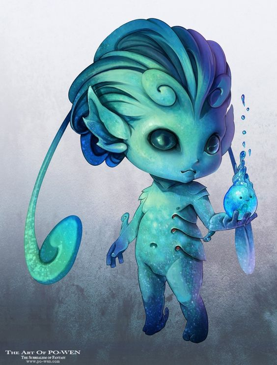 Water sprite plant clipart.
