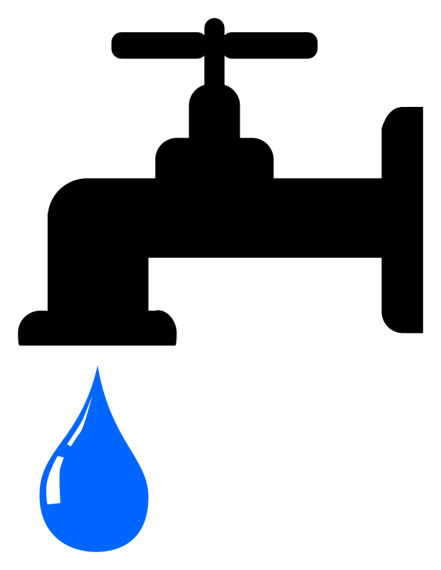 Water supply clipart #8