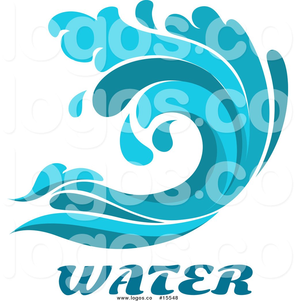 Water Surf Clipart.