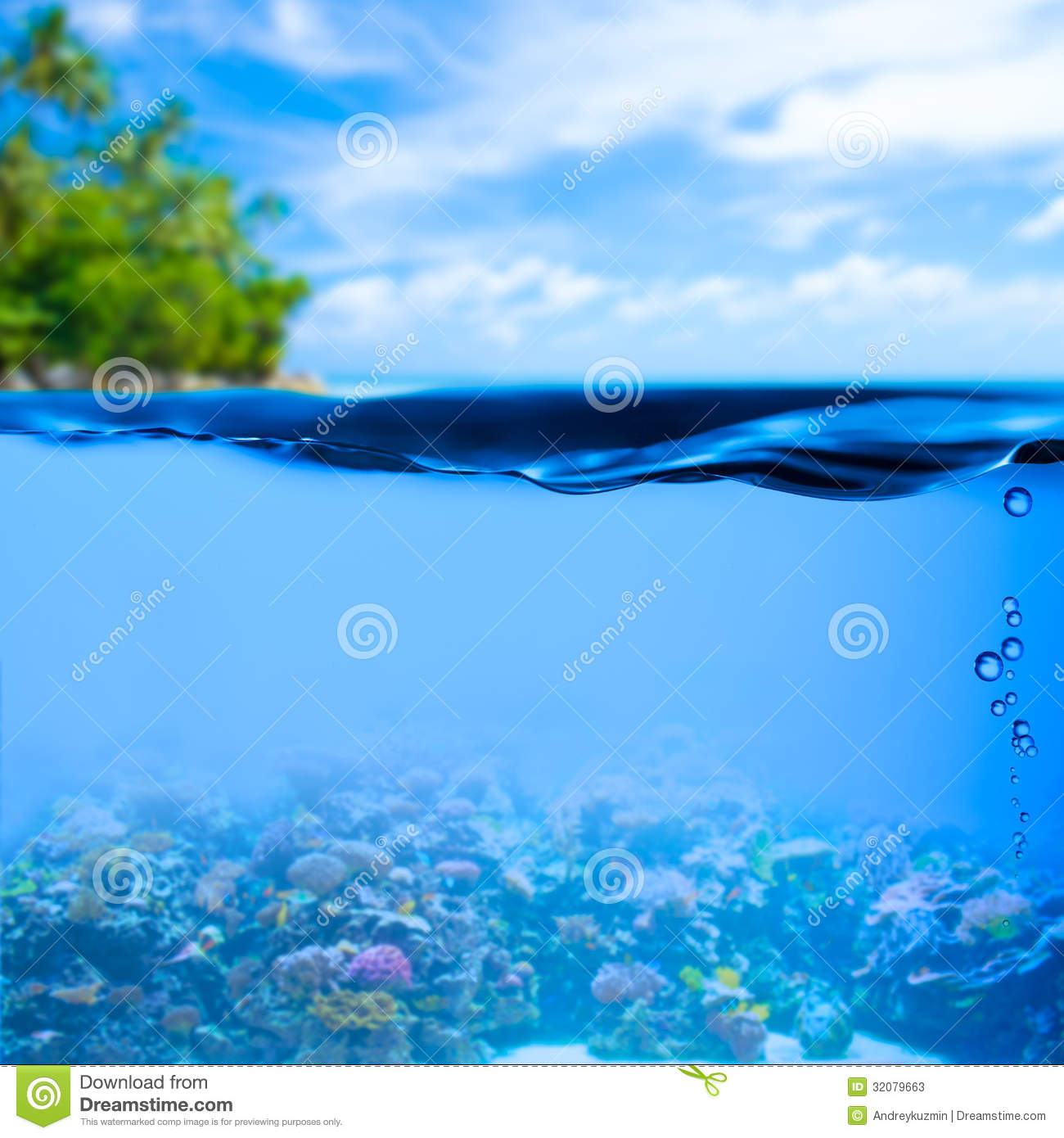 Surface water clipart.