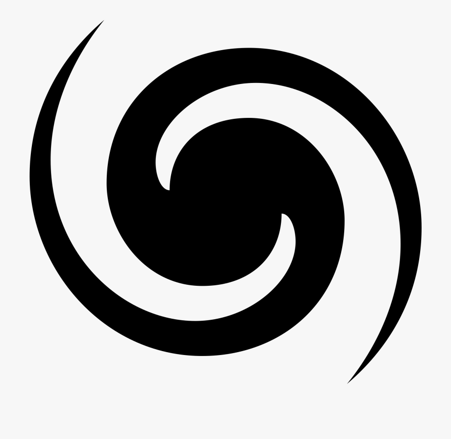 Clip Art Black And White Swirl.