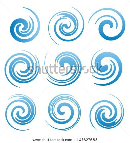 Swirl Stock Images, Royalty.