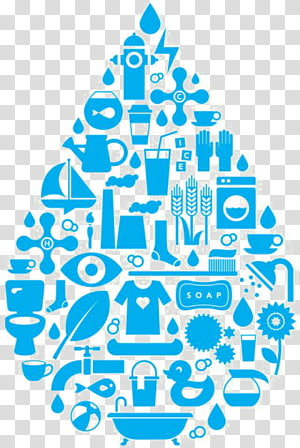 Public Water System transparent background PNG cliparts free.