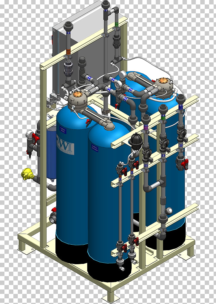 System Water supply network Capacitive deionization Purified.