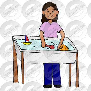 Water Table Picture for Classroom / Therapy Use.