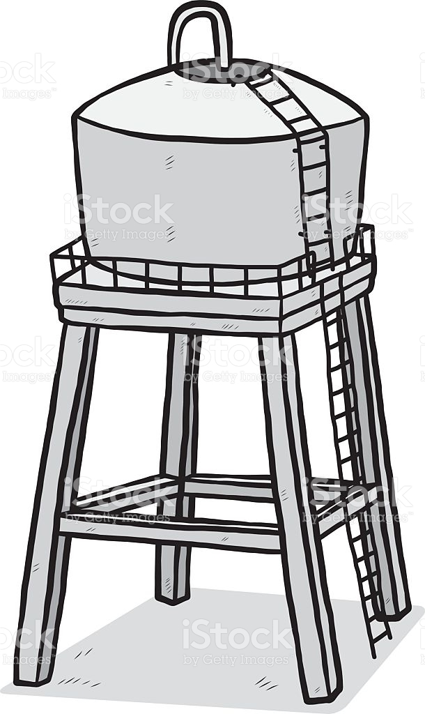 Water tank clipart 3 » Clipart Station.
