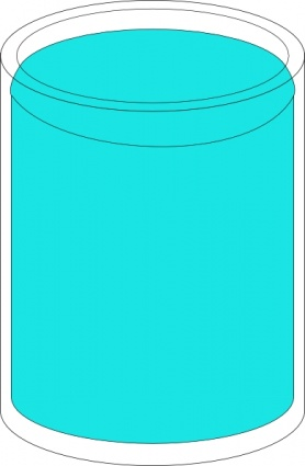 Tank of water clipart.