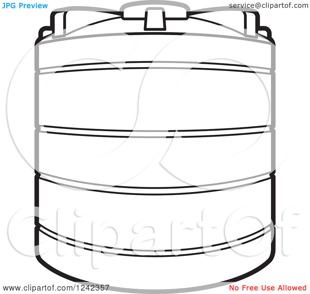 Water tank clipart.