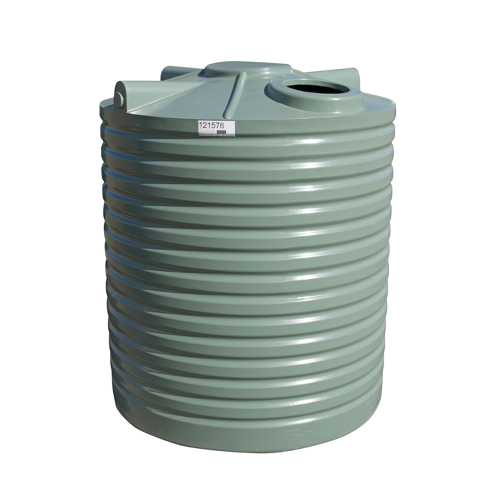 Clark Tanks 5000L Tall Round Poly Water Tank.