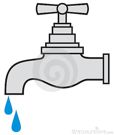 Water tap clipart.