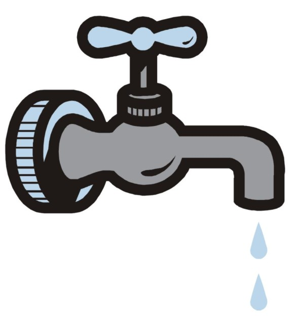 Tap Water Clipart.