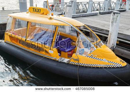 Yellow Water Taxi Stock Photos, Royalty.