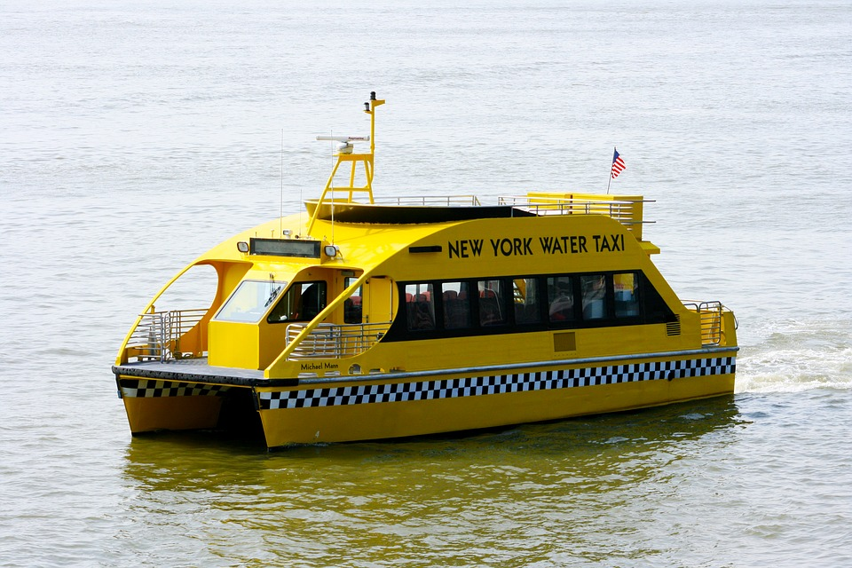 Free photo: Water Taxi, Taxi, Nyc, New York.