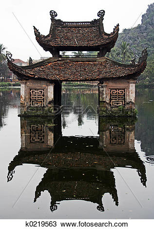 Stock Photo of Water temple k0219563.