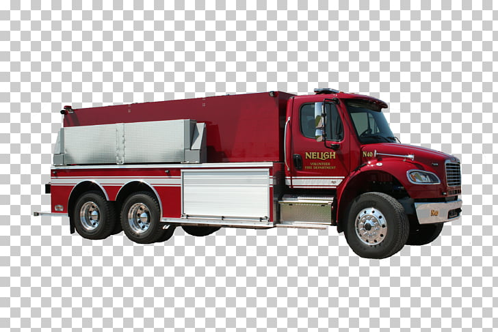 Fire engine Neligh Adams Tank truck Commercial vehicle.