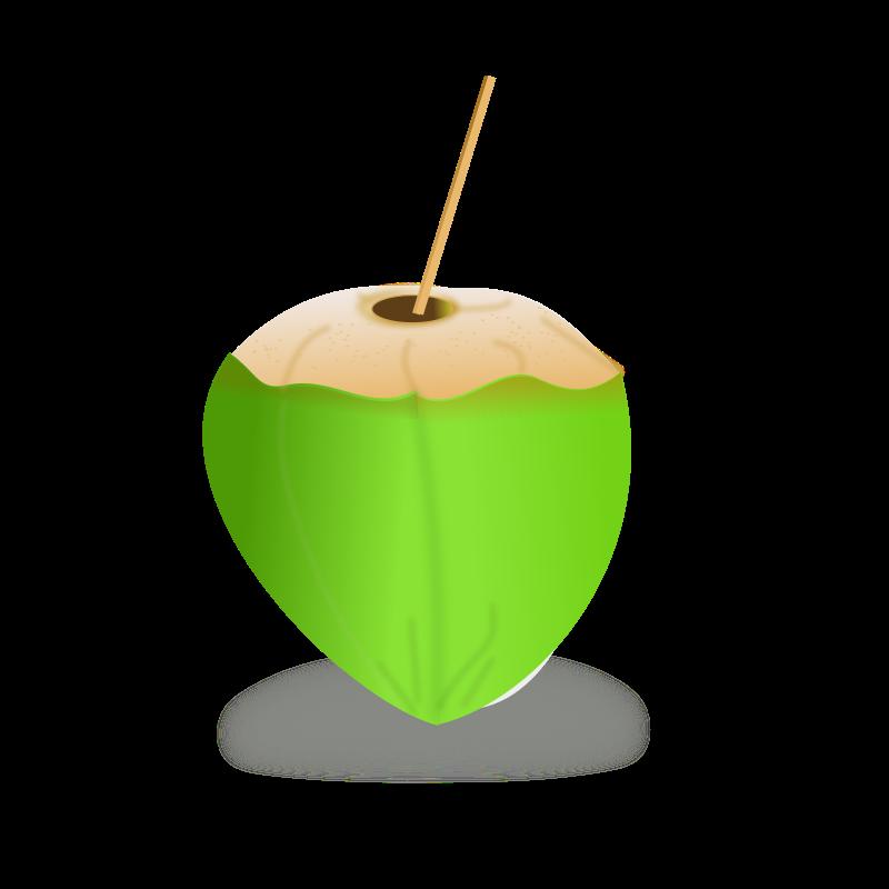 Tender Coconut Clipart.