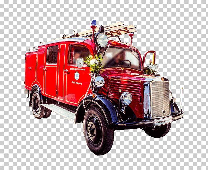 Fire Department Car Automobilsprøjte Water Tender Autoladder.