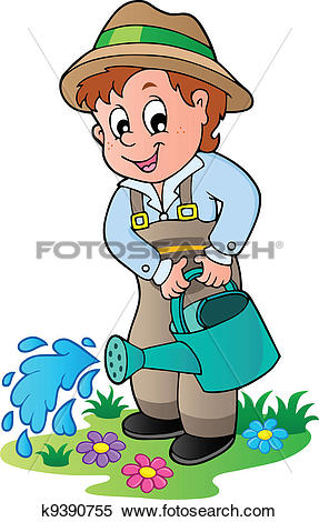 Watering plants Clipart Illustrations. 25,553 watering plants clip.