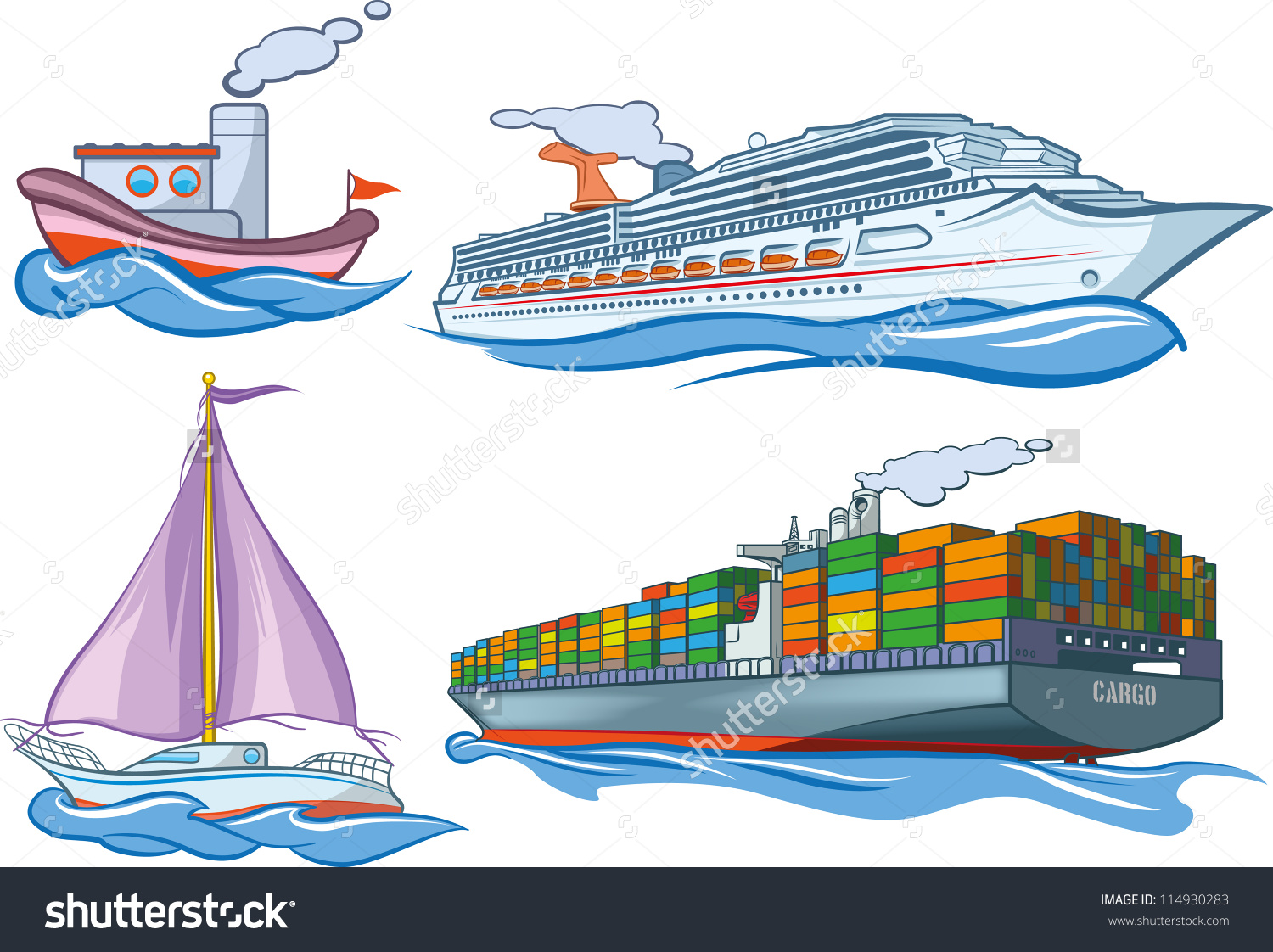Water Transport Clipart
